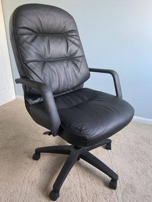 Office chair Leather for Sale in Oswego, IL