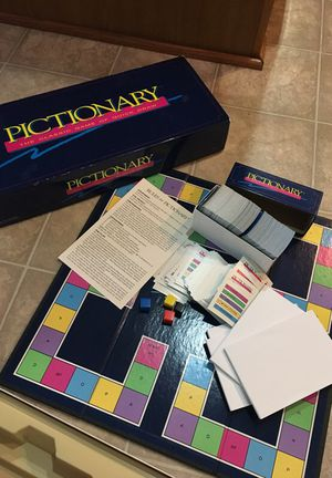 Pictionary board game for Sale in Aldie, VA