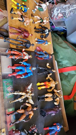 Lot of 20 Action figures NOT SELLING SEPARATELY $60 for Sale in Clovis, CA