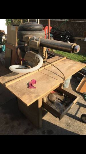 Craftsman Radial Arm Saw with Drill Press Combo for Sale in PA, US