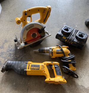 Dewalt tools for Sale in San Bernardino, CA