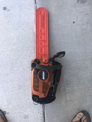 Echo CS-355T 14 in bar and 120 foot climbing rope for Sale in Los Angeles, CA