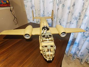BOYS AIRPLANE ALMOST LIKE NEW 2FT IN LENGTH for Sale in Fresno, CA