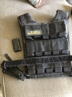 V Max 60lb weighted Vest for Sale in Long Beach, CA