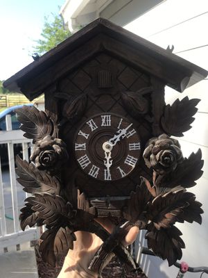 Wooden antique German Coo Coo Clock for Sale in French Camp, CA