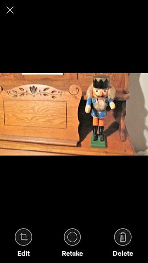 Vintage Wooden German Soldier Nutcracker. 14 Inches for Sale in Lynchburg, VA