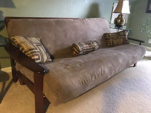 Futon with two covers. for Sale in Virginia Beach, VA