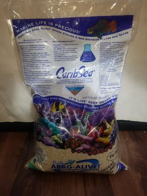 Live aragonite sand(20lbs) for Sale in West Hazleton, PA