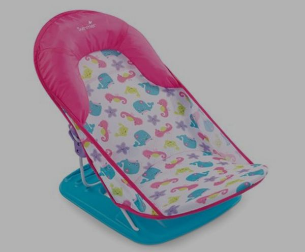 Deluxe Baby Bather (Fish and Flowers)