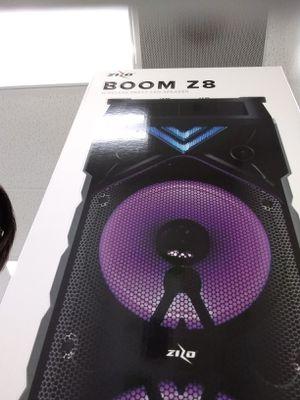 Boom z8 speaker for Sale in Pine Bluff, AR