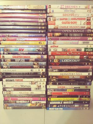 60 DVDS FOR SALE for Sale in Kennewick, WA