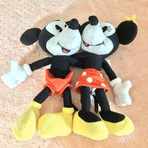 Mickey & Minnie Mouse Disney Stuffed Plush Animal Toy for Sale in Hampton, VA