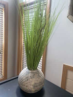 Faux plant vase for Sale in Bolingbrook, IL