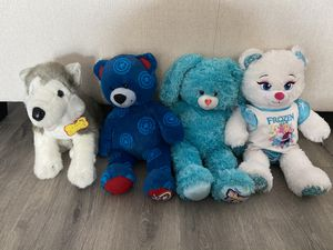 Build a Bear lot husky captain America Disney frozen Elsa shake it up for Sale in Rancho Cucamonga, CA