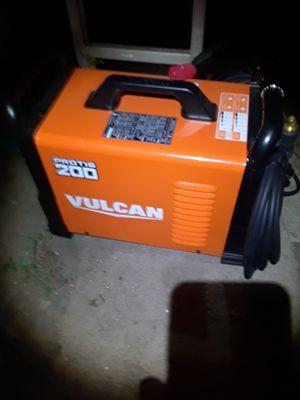 Vulcan plasma welder cutter mig 200 for Sale in Pleasanton, CA