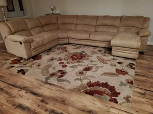 Sectional with chaise and bed for Sale in Litchfield Park, AZ