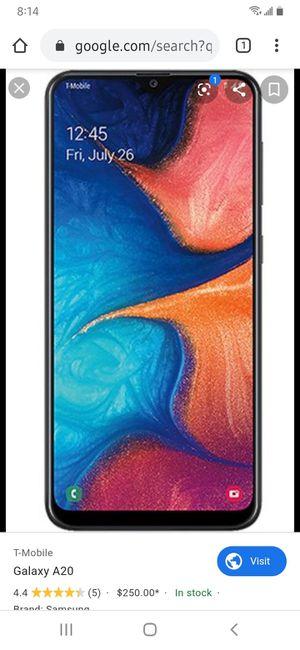 Galaxy A20 for Sale in Minooka, IL