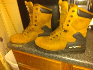Men's Carhartt work boots for Sale in Cleveland, OH