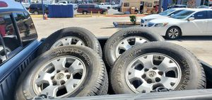 Toyota tacoma wheels and tires for Sale in El Cajon, CA