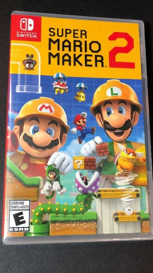 Super Mario Maker 2 Nintendo Switch BRAND NEW for Sale in Wyncote, PA