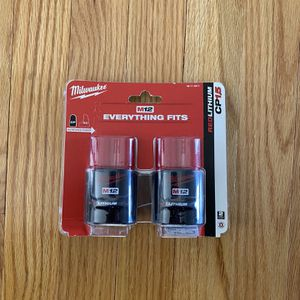Milwaukee M12 Battery Twin Pack for Sale in Severna Park, MD