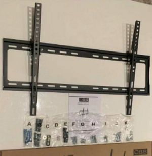 Brand New LCD LED Plasma Flat Tilt Adjustable TV Wall Mount stand bracket fits 32 to 65 inch tv sizes television bracket include hardware and screws for Sale in Whittier, CA