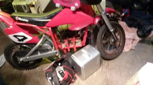 If u seen This Razor Dirt bike it's stolen so don't buy it for Sale in Columbus, OH