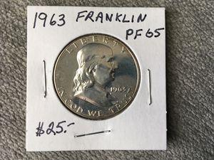 1963 franklin half for Sale in Evans, GA