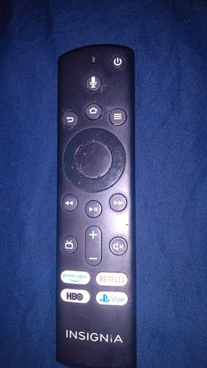 Insignia Firestick Remote for Fire TV for Sale in Columbus, GA