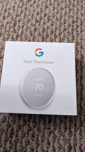 Google nest thermostat for Sale in TN OF TONA, NY