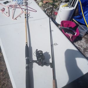 Stellar Lite Star Rod And Berkeley Big Game And Eagleclaw Reel for Sale in Dover, FL