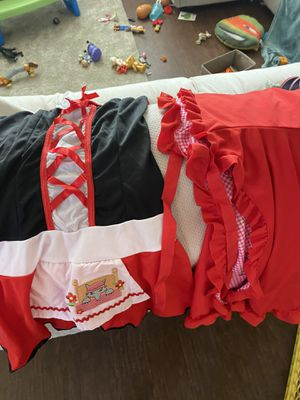 girls red riding hood costume for Sale in Fresno, CA
