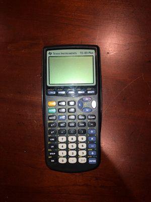 *** TI-83 PLUS CALCULATOR *** for Sale in Alpharetta, GA