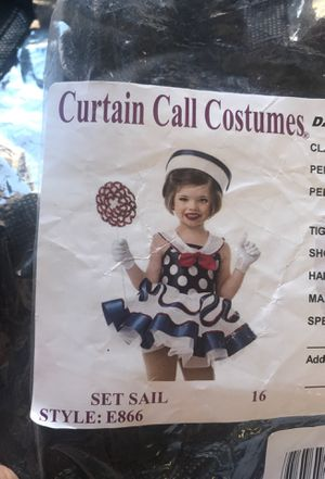 BRAND NEW sailor costume for Sale in San Diego, CA