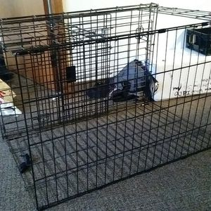 DogKennel/StealCrate for big animals for Sale in Portland, OR