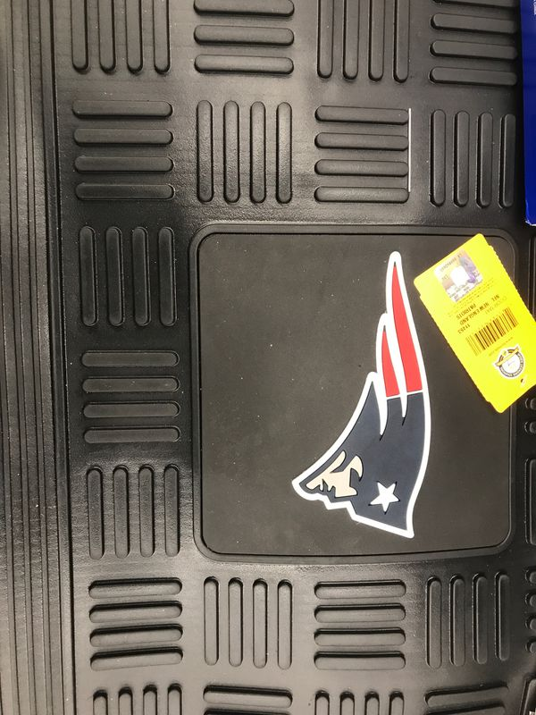 New England Patriots Medallion Door Mat - delivery offered FREE within 10 miles