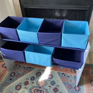 Toy Organizer With Cube Drawers for Sale in Odenton, MD