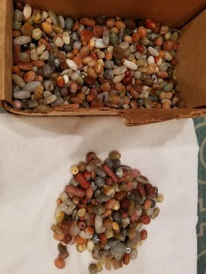 Natural agate beads for Sale in Los Angeles, CA