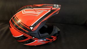 BMX is HJC Bike Helmet. I almost new. for Sale in Crofton, MD