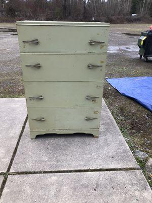 Antique wooden dresser for Sale in Spanaway, WA