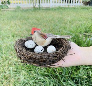 Garden decoration birds egg nest for Sale in Norwalk, CA