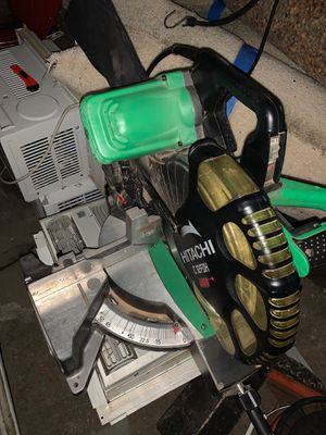 Hitachi saw with laser guide for Sale in Aliquippa, PA