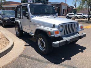 2004 Jeep Wrangler for Sale in Scottsdale, AZ