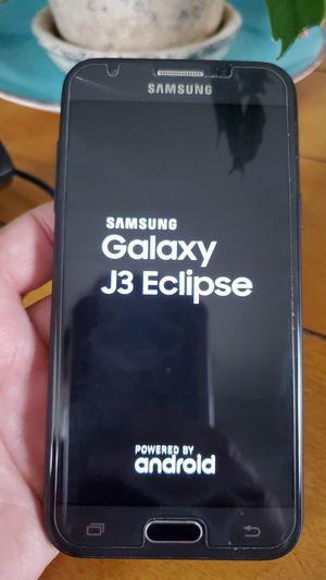 Samsung Galaxy J3 eclipse phone for Sale in Glen Burnie, MD