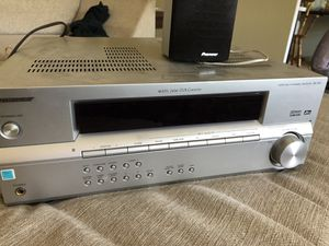 Pioneer Surround Sound Receiver with 5 Speakers for Sale in Fremont, CA