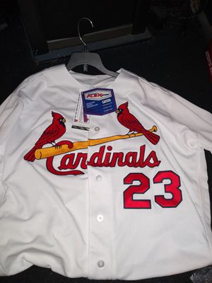 St.louis Cardinals Ozuma autograph jersey & baseball with a free gift for Sale in St. Louis, MO