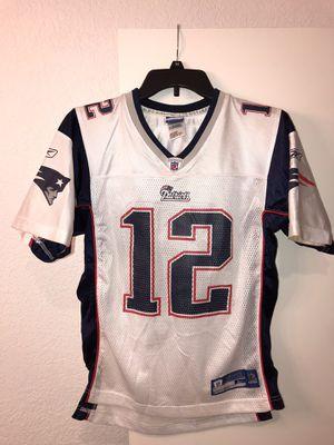 Vintage Tom Brady New England Patriots Reebok #12 Youth NFL Jersey. L for Sale in Tamarac, FL