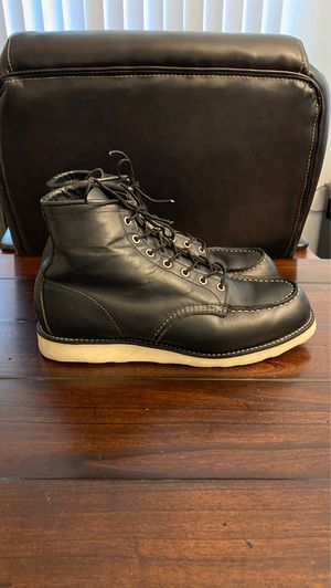 Red Wing Boots - 9075 Black Harness Leather size 10.5 for Sale in Carlsbad, CA
