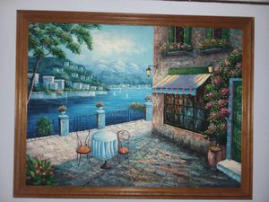R. Weaver Oil Painting Signed for Sale in Gibsonton, FL