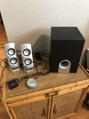 Insignia Computer speakers w/sub woofer for Sale in Valrico, FL